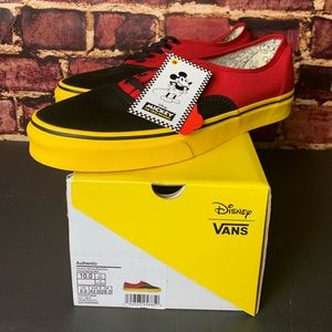 Vans Authentic Disney Mickey Mouse